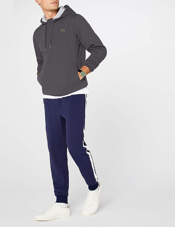 2c24ef2310d Lacoste Sweat-Shirt à Capuche Homme  Amazon.fr  Vêtements et accessoires
