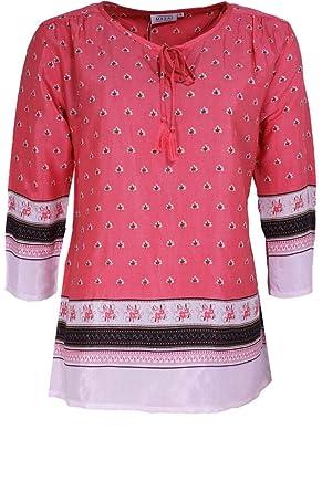 T RoseVêtements Masai Et Clothing Femme Rose Shirt MzqUpGLSV