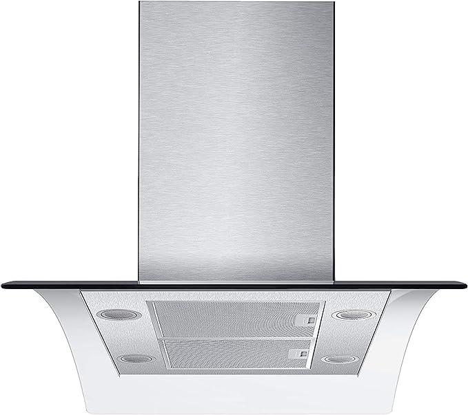 kkt Kolbe Sinus Isla TC9 Campana extractora/90 cm Isla/9 precisa niveles de potencia/seguimiento/LED de iluminación: Amazon.es: Grandes electrodomésticos