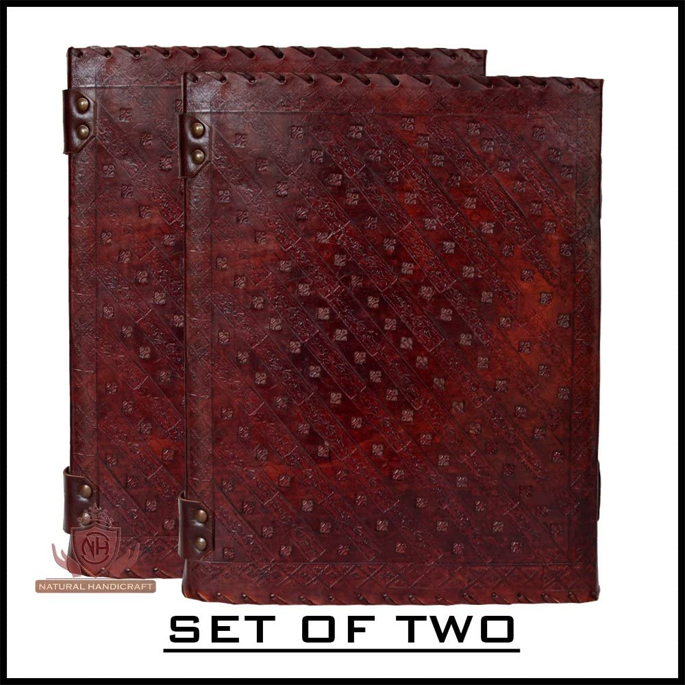 Leather Journal Seven Chakra Medieval Stone Embossed Handmade Book of Shadows Notebook Office Diary College Book Poetry Book Sketch Book 10 x 13 Inches