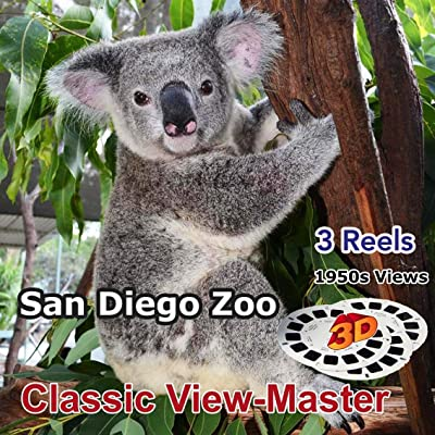 San Diego Zoo - Vintage Classic ViewMaster - 3 Reels Only: Toys & Games