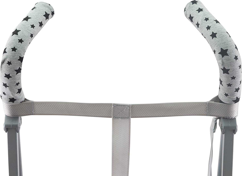 mango de silla de paseo JANABEBE Funda para manillar BLACK RAYO