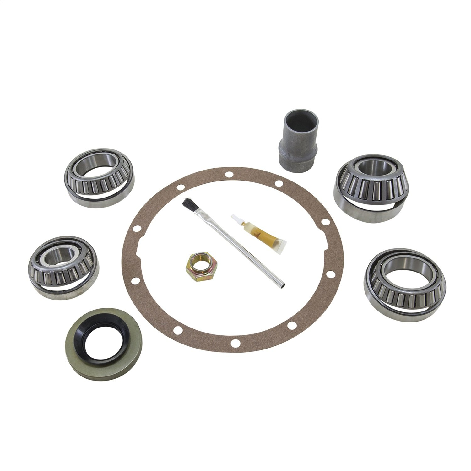 Yukon (BK T8-D) Bearing Installation Kit for Toyota 8'' Differential with OEM Ring and Pinion