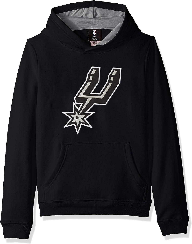 San Antonio Spurs Youth NBA Optimum」プルオーバーフード付きスウェットシャツ