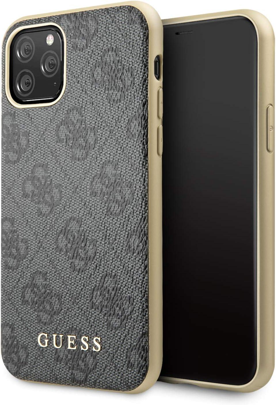 Guess GUHCN65G4GG - Carcasa para iPhone 11 Pro MAX, Color Gris