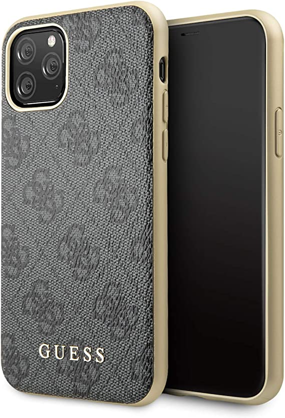 Guess GUHCN65G4GG 4G Cover for iPhone 11 Pro Max, Grey