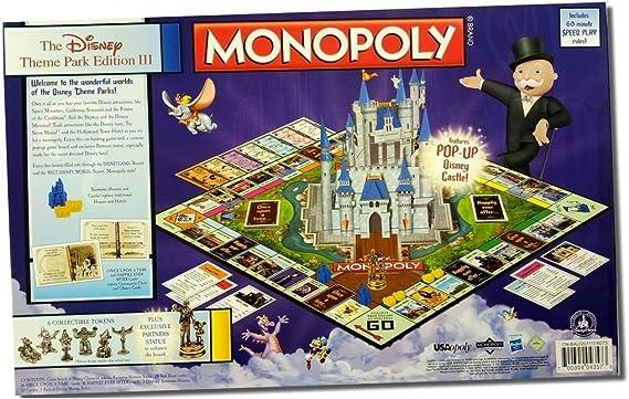 Disney Monopoly Theme Park Edition Released in Japan Yet (Japan Import): Amazon.es: Juguetes y juegos