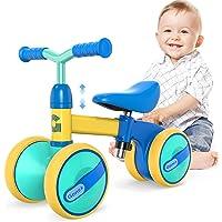 Gonex Baby Balance Bikes Fiets Kinderen Walker voor 1-3 Jaar Ouderen Jongens Meisjes, Verstelbare Seat Peuter Ride…