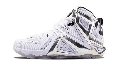 Nike Lebron XII 12 Elite SPPigalle 806951 100 WhitePure Platinum Men s