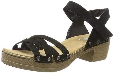 4f1885ee93d Rieker Women's V6886-00 Closed Toe Sandals: Amazon.co.uk: Shoes & Bags