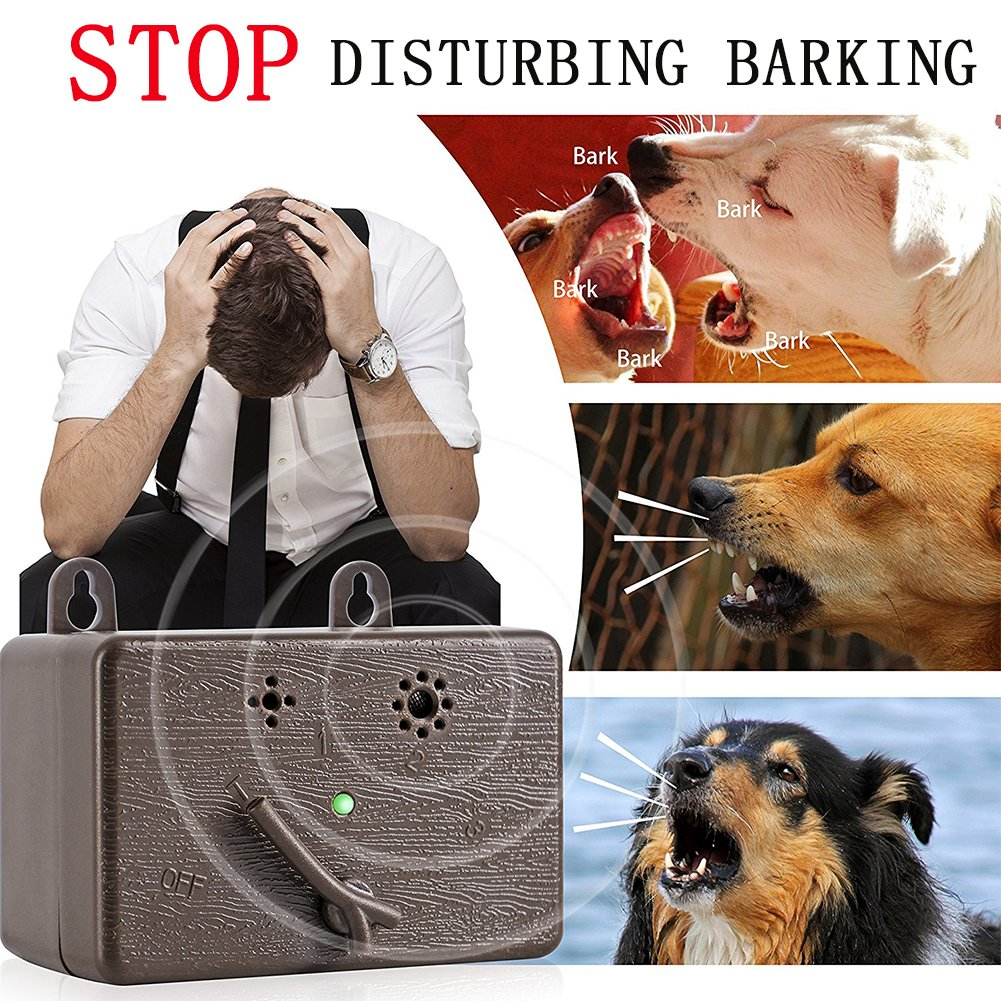 PlantLover Mini Anti Barking Deterrent - Prime Ultrasonic Dog Bark Control - Pet Training Collar - Stop Barking Device - No Bark Tool Bark Stop Repeller - Safe for Dogs - Up to 50 Feet by PlantLover (Image #6)