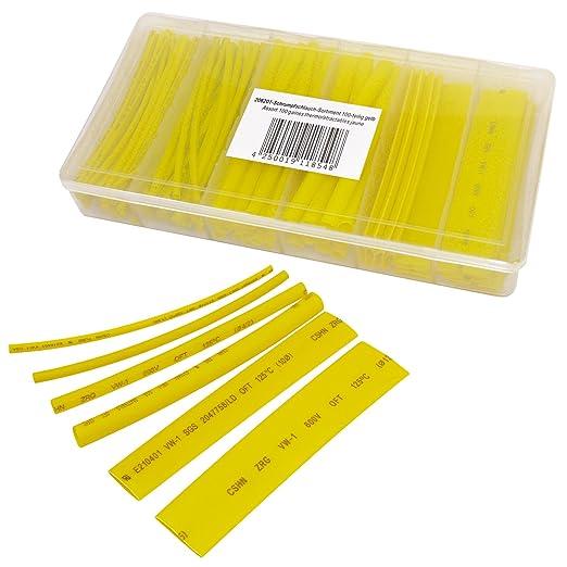 8 opinioni per Tubi termoretraibile 100 pezzi, giallo, 10cm