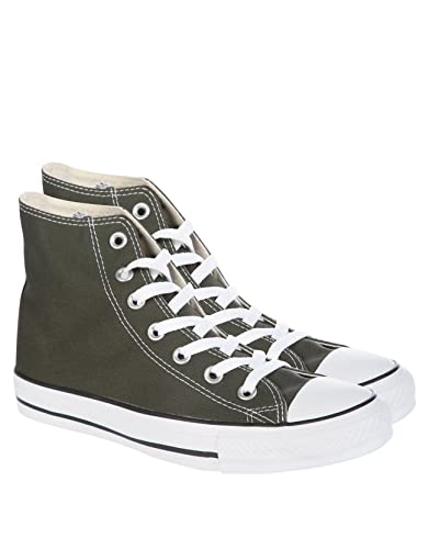 Converse Chuck Taylor All Star Hi-Tops - Dark green - Mens - 18 ... 9dceb3195ff9