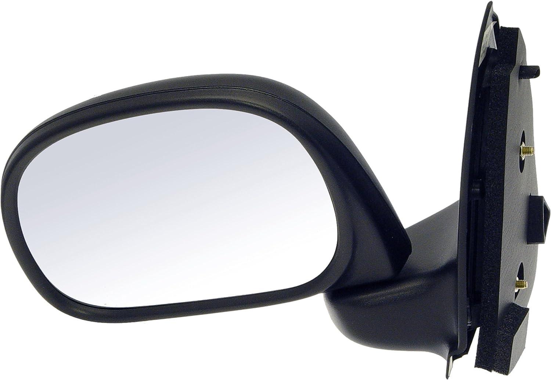 Folding for Select Ford Models Black Dorman 955-283 Driver Side Manual Door Mirror