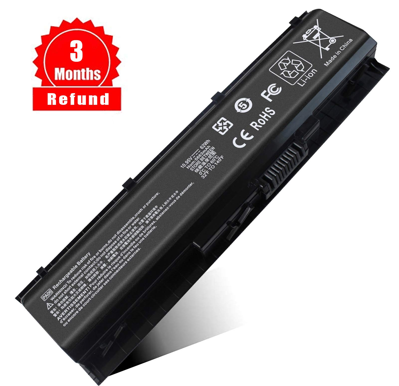 Bateria Pa06 Hp Omen 17 17-w 17-ab000 17-ab200 17t-ab00 Seri
