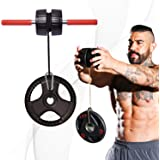 DMoose Forearm Exerciser, Wrist Exerciser and Wrist Roller, Forearm Workout Equipment, Forearm Blaster Strength Trainer and W