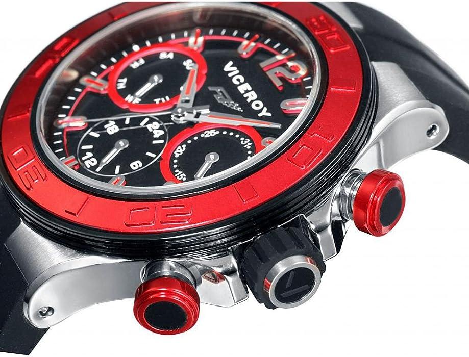 Reloj Viceroy Fernando Alonso 47776-55 Niño Negro. Atrás. Pulsa ...