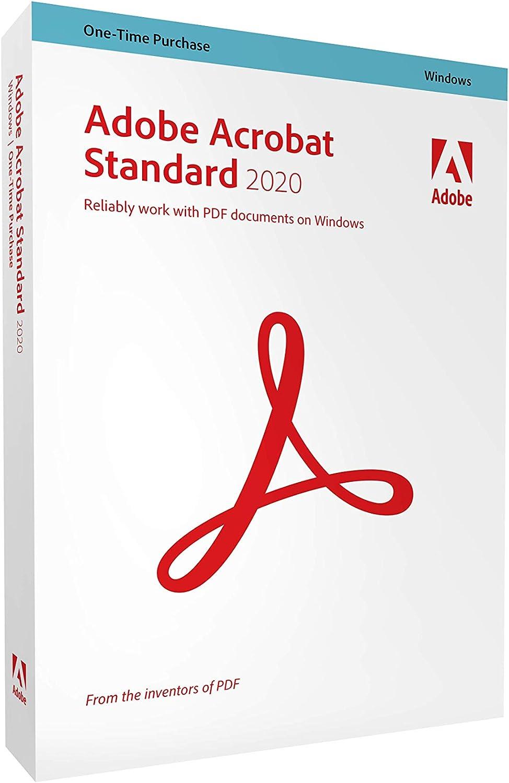 Adobe Acrobat Standard 2020 [PC Disc]