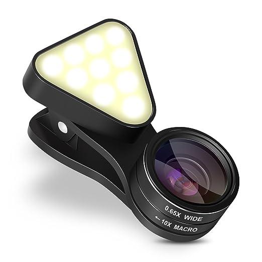 18 opinioni per INTEY Obiettivo Smartphone con LED 3