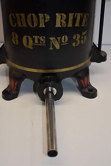 Di/áMetro Base Ctzrzyt 4 Piezas Tubos de Llenado de Embutidora de Salchicha de Acero Inoxidable Boquillas de Embudos Piezas de Repuesto Tubo de Llenado 38 Mm