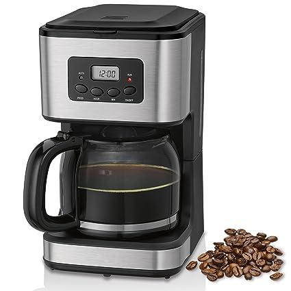 Cafetera programable eléctrica de goteo automática , máquina café de filtro capacidad 12 a 14 tazas