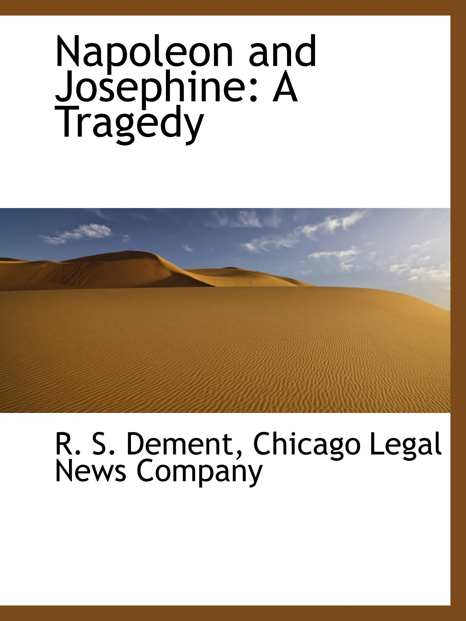 Napoleon and Josephine: A Tragedy Text fb2 book