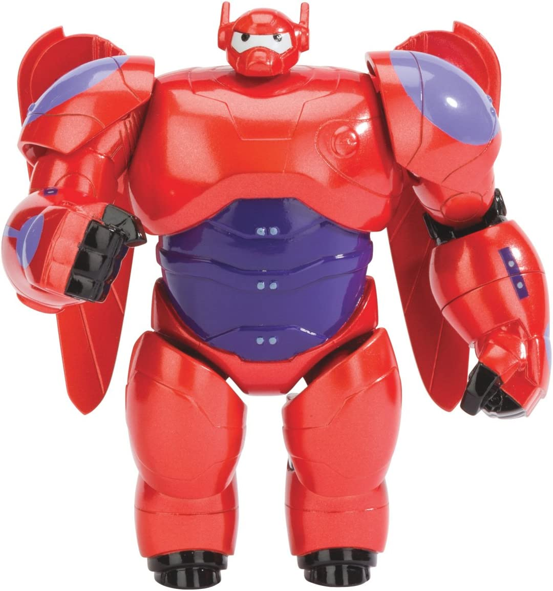 Amazon Com Big Hero 6 4 Inch Baymax Action Figure Toys Games