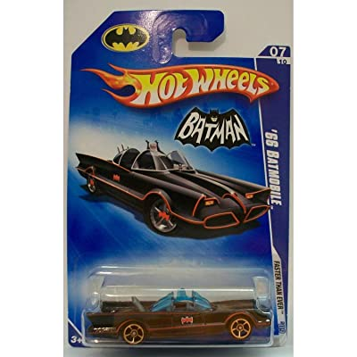 1 X 2009 Hot Wheels '66 Batmobile 07/10: Toys & Games