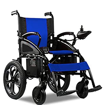 Thrive Mobility Lightweight Portable Folding Electric Power Wheelchair Motorized Wheelchairs for...