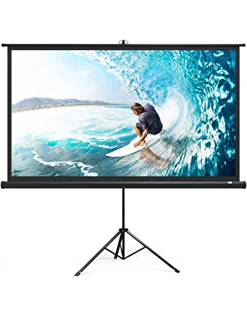d757510e8f6fef Projector Screen with Stand, TaoTronics Indoor Outdoor Projection Screen 4K  HD 100 Inch 16: