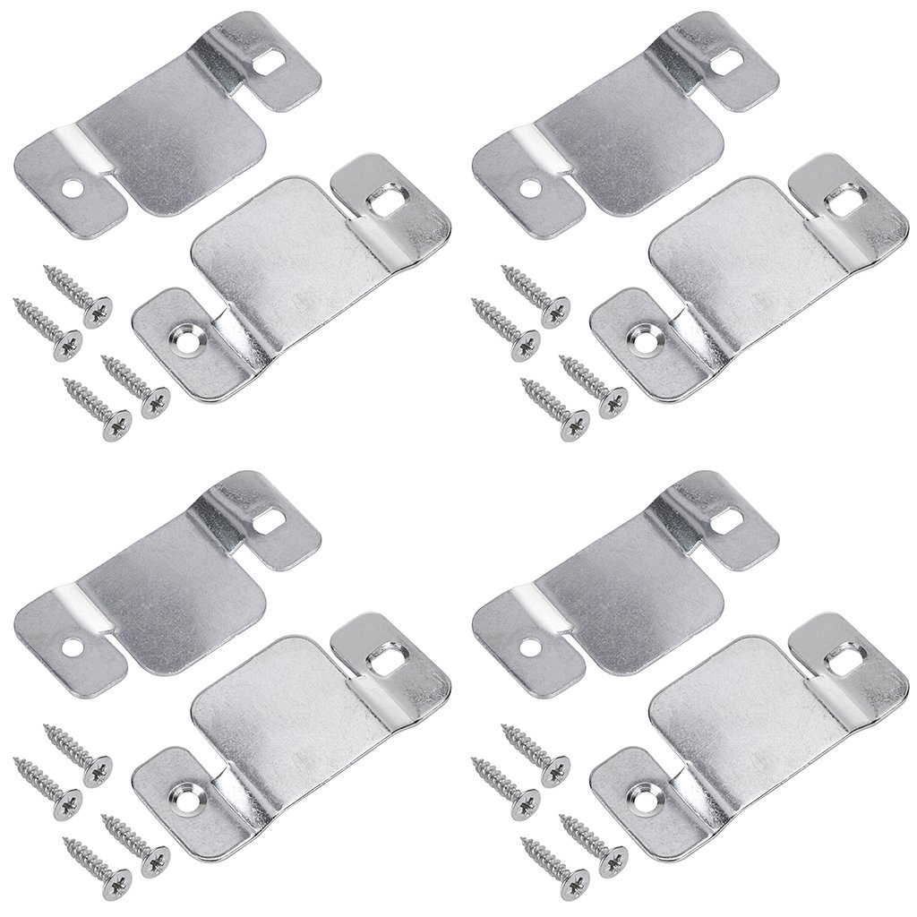 Sumnacon Sectional Sofa Connectors Furniture Interlocking, Sectional Couch Fastener Software Bracket with Screws For Loveseat, Recliner, Chair or Chaise Lounge (8 Pcs)