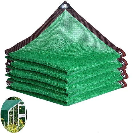 HLMBQ Malla Sombreo 90%,Verde Malla Ocultación,contra el Viento,Red Resistente a UV,Duradera,Pantalla de Privacidad,Planta balcón Cubiertas de Techo 2 x 10 m: Amazon.es: Hogar