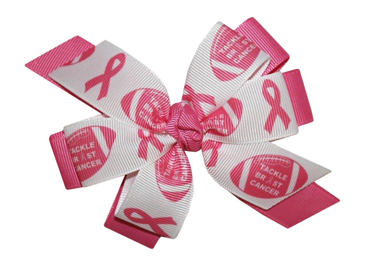 Amazon.com : WD2U Deluxe Tackle Breast Cancer Pink October Football ...