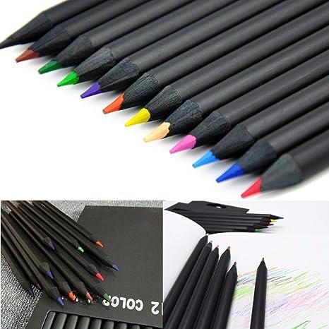 Tutoy 12 Colores De Madera Dibujo De Carboncillo Lápices