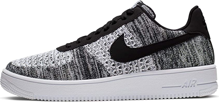 granja multa financiero  Amazon.com | Air Force 1 Flyknit 2 Black Pure Platinum - Av3042-001 - Size  | Basketball