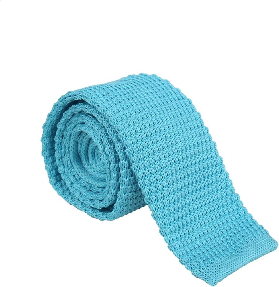 BUYYOURTIES - Corbata - para hombre Azul agua Talla única: Amazon ...