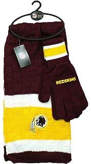 08c9a53a Amazon.com : Littlearth NFL Washington Redskins Scarf Glove Gift Set ...