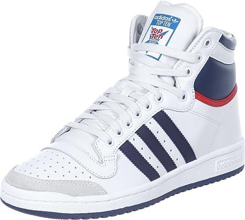 adidas Top Ten Hi Shoe, adidas Originals Schuhe Herren Weiß