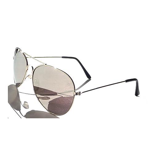 825533af71 3 Pairs Aviators Silver Full Mirror Sunglasses Top Gun