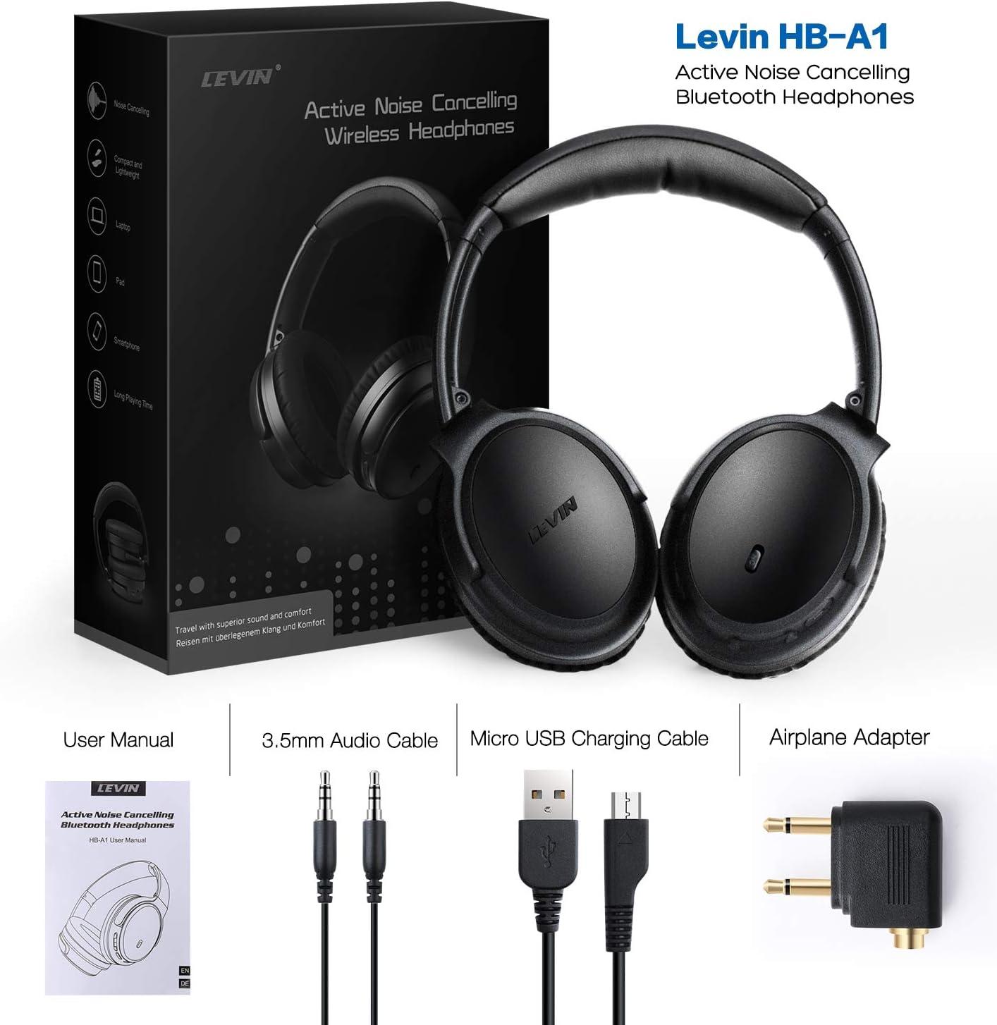Bluetooth Kopfhrer Noise Cancelling Kopfhrer & Zubehr ...