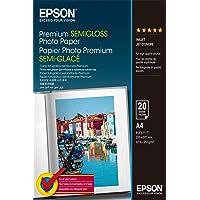 Epson A4 Premium Semigloss Photo Paper - 20 Sheets (250gsm)