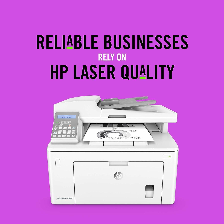 HP LaserJet Pro M148fdw Laser 28 ppm 1200 x 1200 DPI A4 Wifi - Impresora multifunción (Laser, Mono printing, 1200 x 1200 DPI, 260 sheets, A4, White)