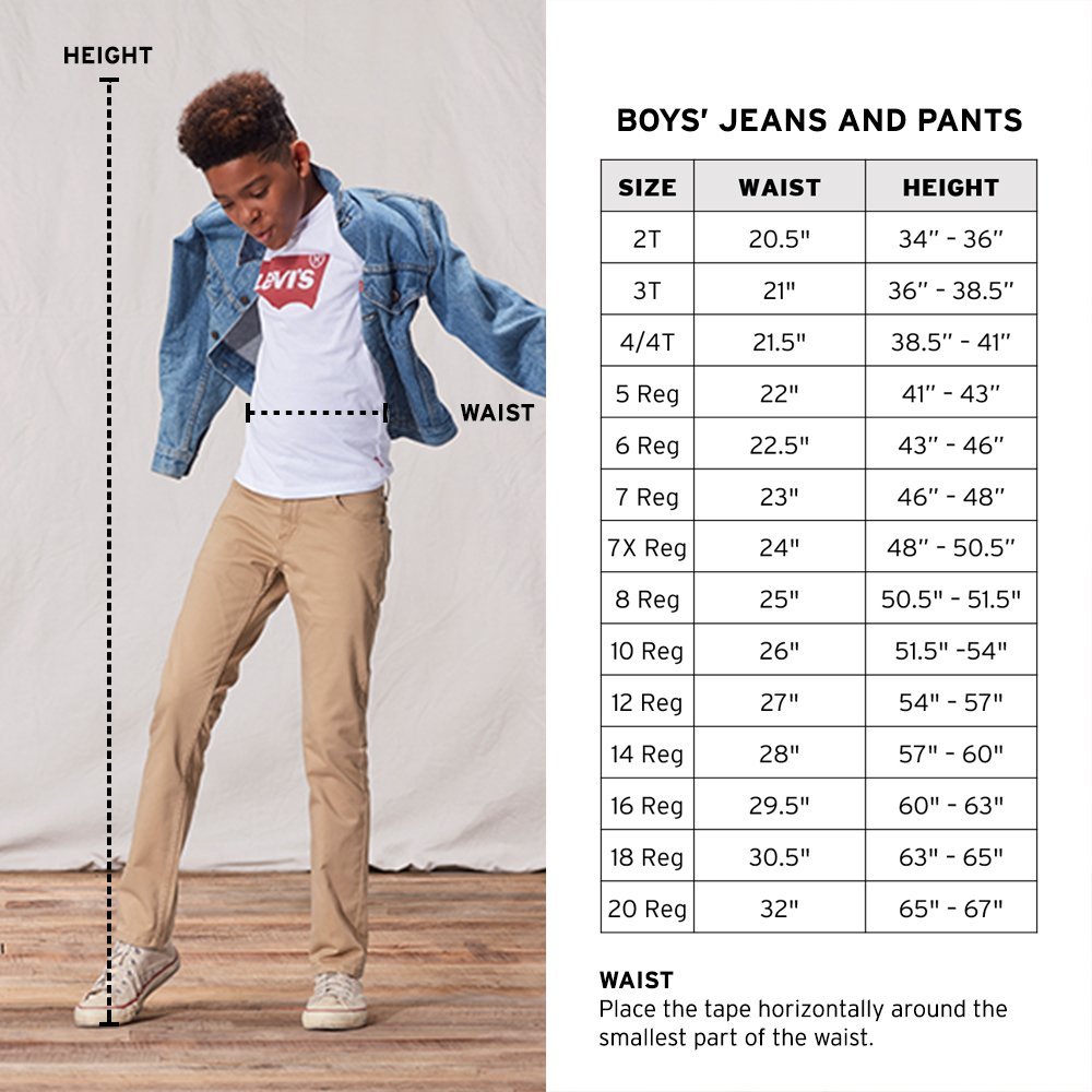 Levi's Boys' Big 510 Skinny Fit Jeans, Aura Orange, 8 by Levi's (Image #4)