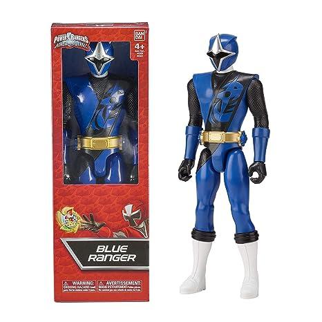 Power Rangers Ninja Steel - Figura Ninja Steel Azul (Bandai 43622)