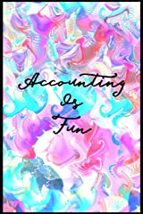 Accounting Is Fun: Teachers and students wide ruled line journal or composition book Paperback