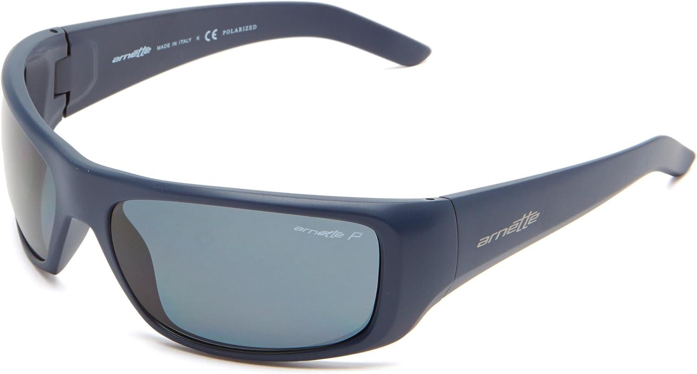 Arnette Hot Shot Gafas de sol, Azul Marino (Matte Navy), 61 para Hombre