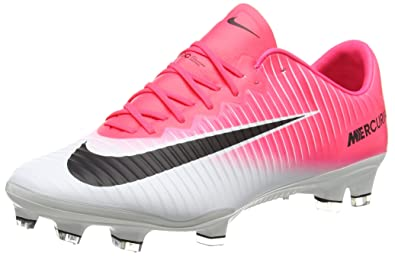 Nike Men's Mercurial Vapor Xi FG Football Boots, Red (Racer Pink/Black White