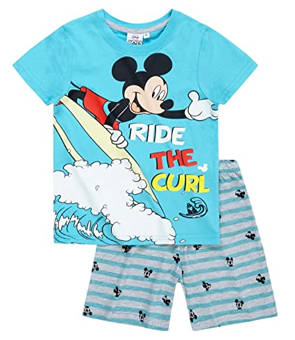 Disney Mickey Chicos Pijama mangas cortas 2016 Collection - Azul: Amazon.es: Ropa y accesorios