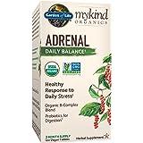 Garden of Life mykind Organics Adrenal Daily Balance 120 Tablets-Healthy Stress Response-Adaptogenic Herbs Ashwagandha, Holy