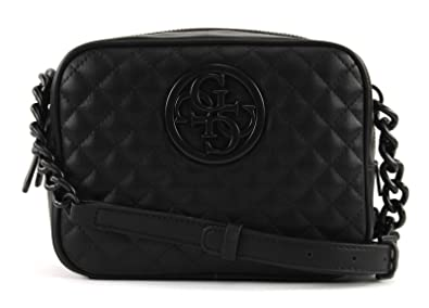 a4c3b07a599a GUESS G Lux Crossbody Top Black  Amazon.co.uk  Shoes   Bags